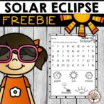 Free 2017 Solar Eclipse Worksheet (PreK-1)