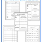 Printable Reading Logs for 4th-5th Grades
