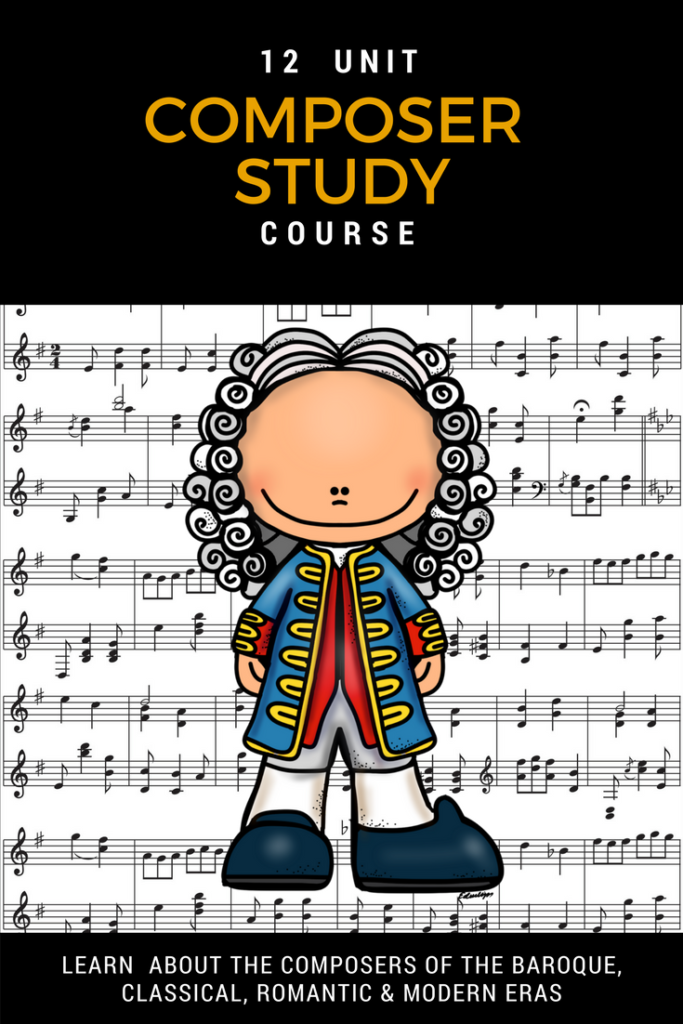For a limited time only, you can grab this 12-unit Music Appreciation study that covers 12 composers. :: www.thriftyhomeschoolers.com