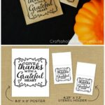 Thanksgiving Printables for your Table