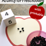 Apple Seed Counting Activity
