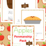 Free Apple Penmenship Pack