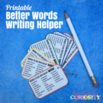 Synonym Writing Helper Printable