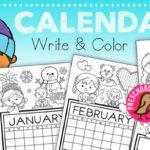 Blank Monthly Calendars