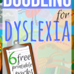 Doodling Printables for Dyslexia