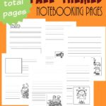 Free Fall Themed Notebooking Pages