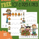 Free Fall Tot – Kindergarten Pack