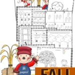 Count & Write Fall Worksheets (1-10)