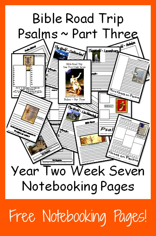 If you're studying the book of Psalms this year, head over and grab these notebooking pages. :: www.thriftyhomeschoolers.com