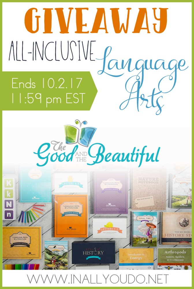 If you're looking for an all-inclusive Language Arts program for your little ones, check this out! And be sure to enter for your chance to win too! :: www.thriftyhomeschoolers.com