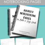 Free History Notebooking Pages for Upper Grades