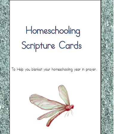 Free Scripture Cards to Blanket Your School Year