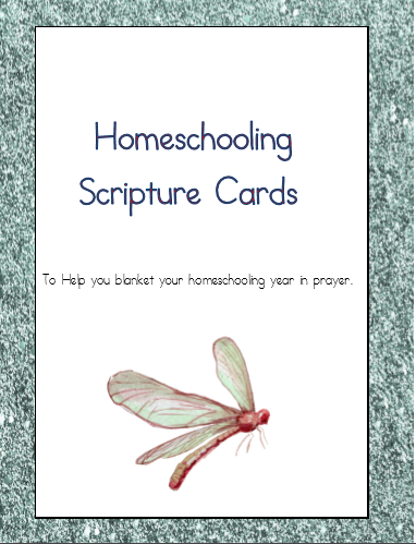 Praying over your homeschool and blanketing it in prayer can bring peace to the home. Here are some printable Scripture cards to help you blanket your homeschool in prayer this year. :: www.thriftyhomeschoolers.com