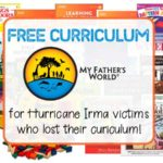 Free Curriculum for Hurricane Irma Victims
