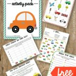 Road Trip Activity Pack Printables