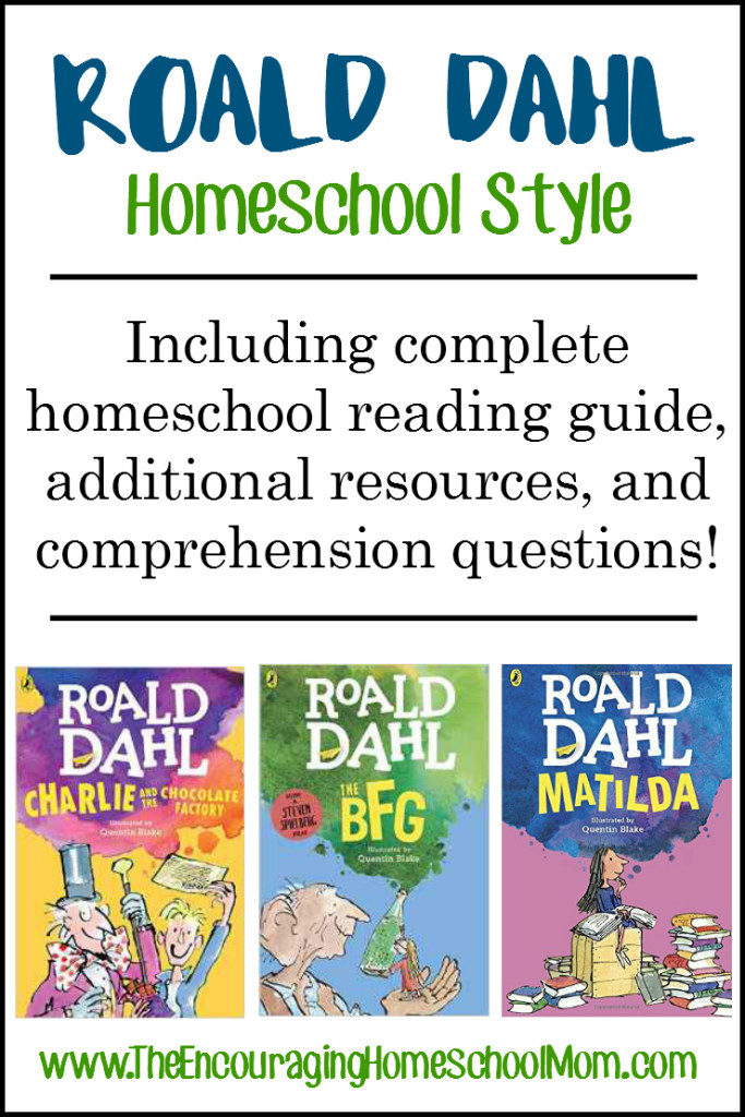 Free Roald Dahl Comprehension Questions Thrifty Homeschoolers