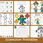 Free Scarecrow Printable Pack