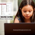 Educational Minecraft Challenge Calendar