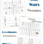 Middle School Star Wars Coordinates Worksheets