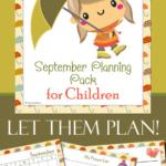Free September Planning Pack