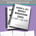 Free Art & Art History Notebooking Pages