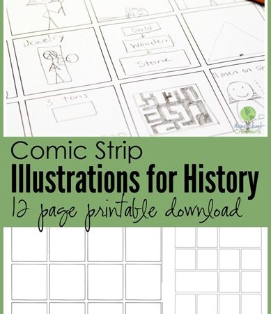Comic Strip Illustration Templates