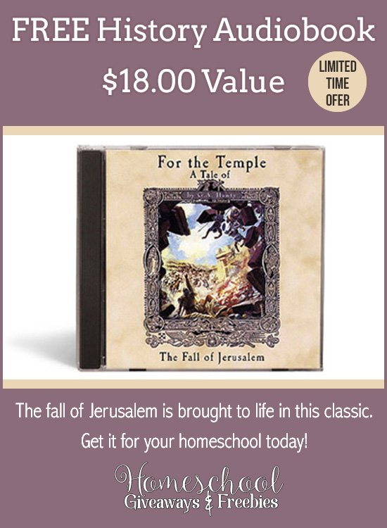 Don't miss this LIMITED TIME History Audiobook FREEBIE!! :: www.thriftyhomeschoolers.com