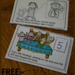 5 Little Monkey's Number Book