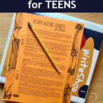 Free October Writing Prompts for Teens