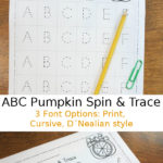 ABC Pumpkin Spin & Trace
