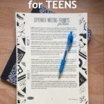 September Writing Prompts for Teens