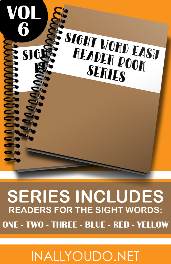 Help kids gain confidence in their reading skills with this set of Pre-Primer Sight Word Easy Readers! :: www.thriftyhomeschoolers.com