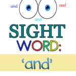 "Sight Word Worksheets for ""AND"""