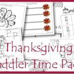 Free Thanksgiving Toddler Time Packs