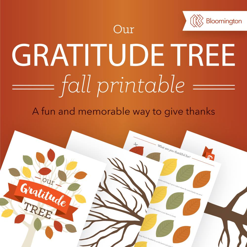 This LIMITED TIME Free printable Gratitude Tree is perfect for the month of November! :: www.thriftyhomeschoolers.com