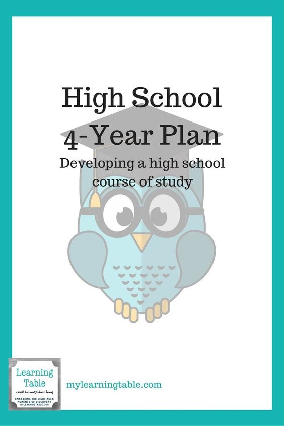 Whether you have a middle schooler planning for high school or a high schooler trying to plan for graduation, make sure you have it all covered with this printable 4-year plan! Free for a LIMITED TIME ONLY! :: www.thriftyhomeschoolers.com