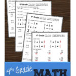 Free Fourth Grade Math Worksheets