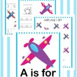 Free A is for Airplane Activity Pack