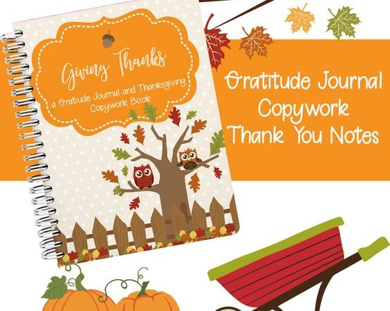 Giving Thanks Gratitude Journal (LIMITED TIME FREEBIE)