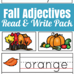Free Fall Adjectives Read & Write Pack