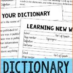 Dictionary Skills Pack Freebie