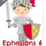 Free Ephesians 6 Printables & Copywork