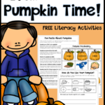 Free Pumpkin Literacy Activities