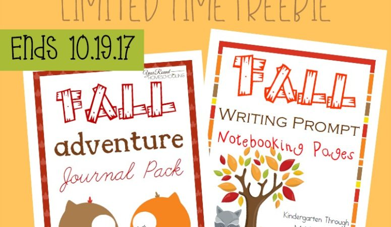 Fall Writing Combo Pack – Limited Time Freebie