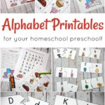 Free Alphabet Printables for Preschoolers