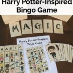 Harry Potter-inspired printable BINGO Cards