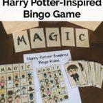 Harry Potter-inspired printable BINGO Cards