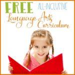 Free All-Inclusive Language Arts Curriculum