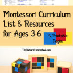 Free Montessori Curriculum List