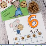 If You Give a Mouse a Cookie themed Counting Mats 1-10